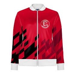 Олимпийка женская Sevilla FC цвета 3D-белый — фото 1