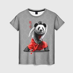 Футболка женская Master Panda цвета 3D — фото 1