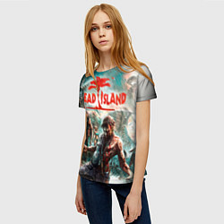 Футболка женская Dead Island цвета 3D — фото 2