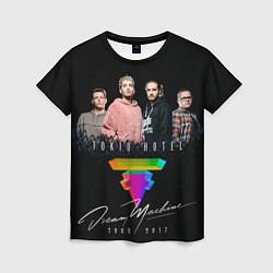 Футболка женская Tokio Hotel: Dream Band цвета 3D — фото 1