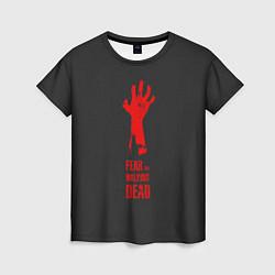 Футболка женская Fear the Walking Dead цвета 3D-принт — фото 1