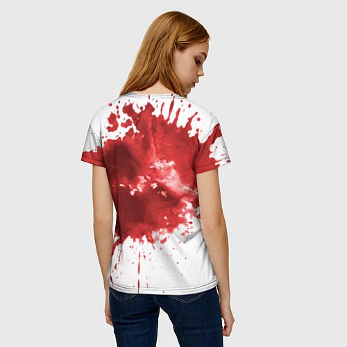 Женская футболка Play a game? / 3D – фото 4