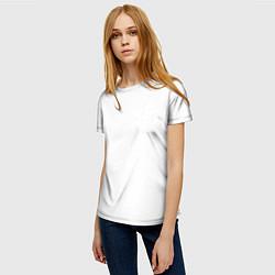 Женская 3D-футболка с принтом Без дизайна, цвет: 3D, артикул: 10193894703229 — фото 2
