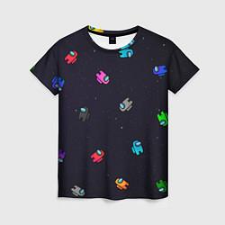 Женская футболка Among Us