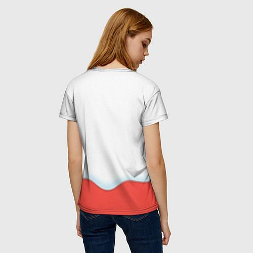 Женская футболка Таня Kinder / 3D-принт – фото 4