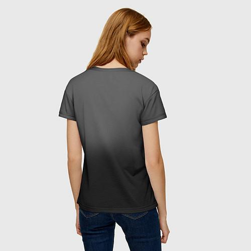 Женская футболка Группа Кино / 3D – фото 4