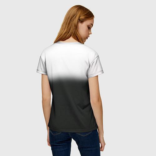 Женская футболка Пикник / 3D – фото 4