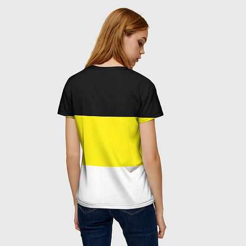 Женская футболка Имперский Флаг / 3D – фото 4