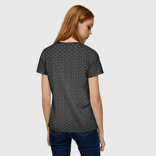 Женская футболка No pain, no gain / 3D – фото 4