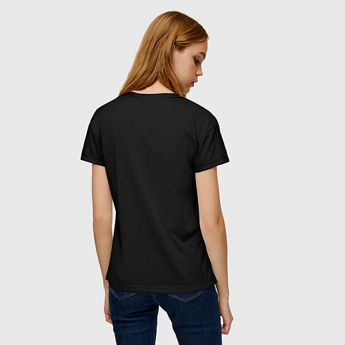 Женская футболка Есенин Ч/Б / 3D – фото 4