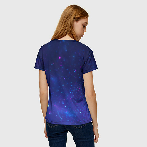 Женская футболка Лев SWAG / 3D – фото 4