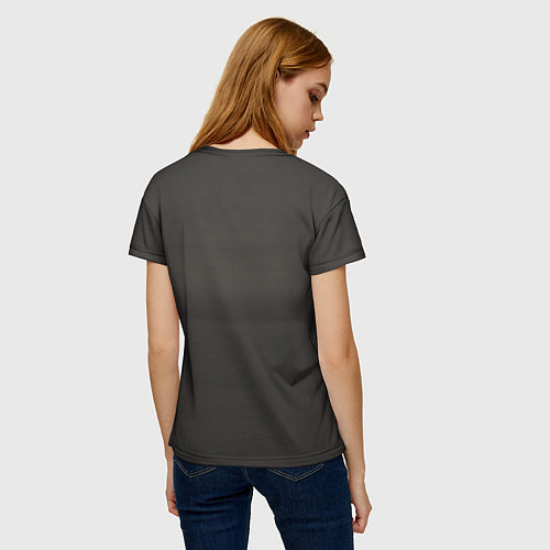 Женская футболка Девушка в форме / 3D – фото 4