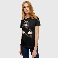 Женская 3D-футболка с принтом Фредди Меркьюри, цвет: 3D, артикул: 10088408603229 — фото 2