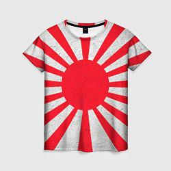 Футболка женская Япония цвета 3D — фото 1