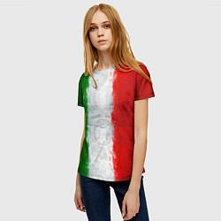 Футболка женская Italian цвета 3D — фото 2