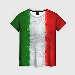 Футболка женская Italian цвета 3D-принт — фото 1