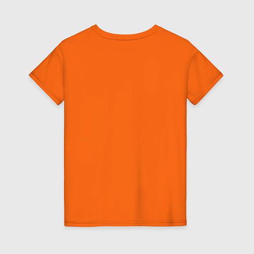 Женская футболка Made in 1995 / Оранжевый – фото 2