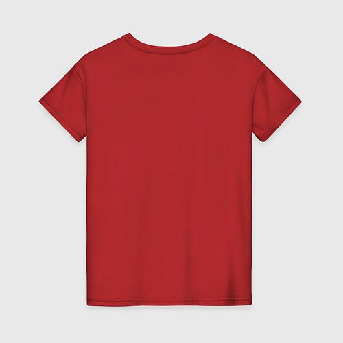 Женская футболка Мне до вас далеко / Красный – фото 2